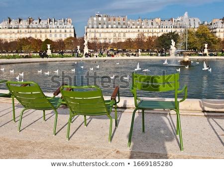 Jardin des Tuileries in Paris Stock photo © chrisdorney