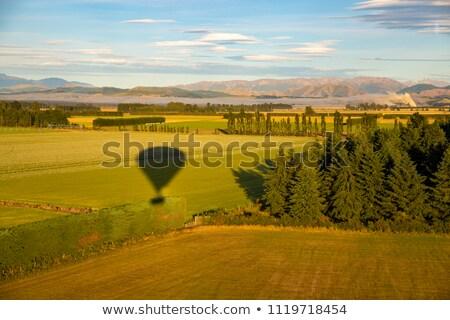 Schaduw luchtballon vliegen landelijk natuur Stockfoto © chrisga