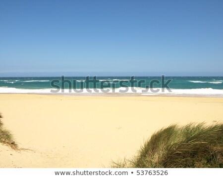 Australiano praia norte praias nuvens Foto stock © lucielang