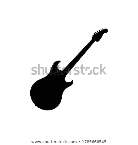 メイプル 首 ギター エレキギター 伝統的な ボディ ストックフォト © Bigalbaloo