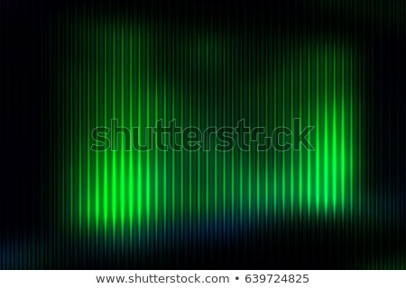 Green Gradient Geometric Light Effect Photo stock © TasiPas