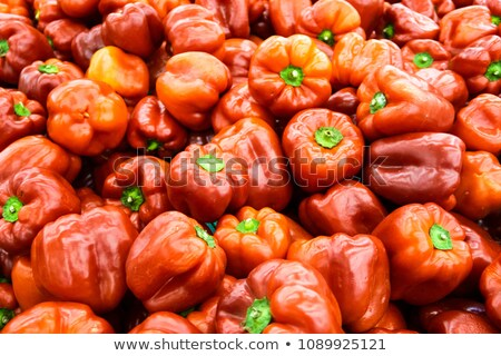Fresh succulent red bell pepper Stock photo © ozgur