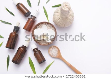 aroma · gyógynövény · friss · szárított · növénygyűjtemény · fém · kosár - stock fotó © tycoon