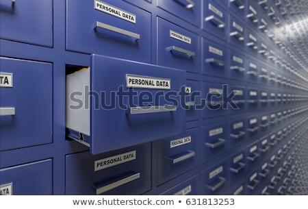 personal concept with word on folder stock photo © tashatuvango
