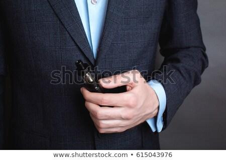 Affaires électronique cigarette bureau fumée Photo stock © wavebreak_media