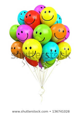 Bunch of Smiling Balloons  Stock photo © make