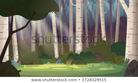 Glade gras veelkleurig hemel muziek partij Stockfoto © Lom