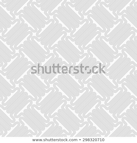 slim gray countered thick t shapes with offset stock photo © zebra-finch