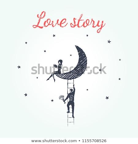 miłości · historia · ilustracja · doskonały · eps - zdjęcia stock © netkov1