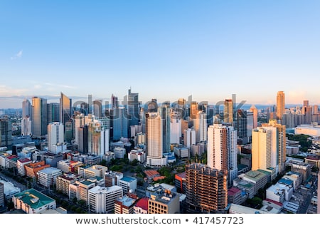 Makati skyline (Manila - Philippines) Stock photo © fazon1