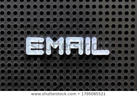 Stock fotó: Email · szó · egér · billentyűzet · gyerekek · internet