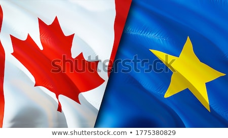 Canada and Congo Flags Stock photo © Istanbul2009
