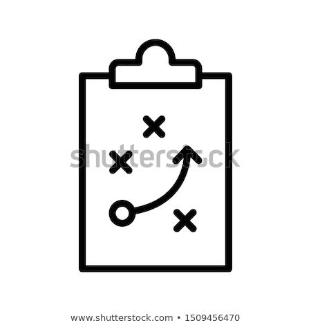 Foto stock: Juego · plan · ilustración · fútbol · jugar · ilustrado