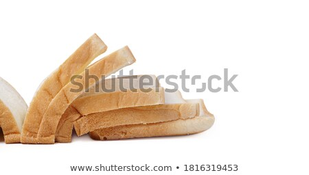 Slice of toasted white bread Stock photo © shutswis