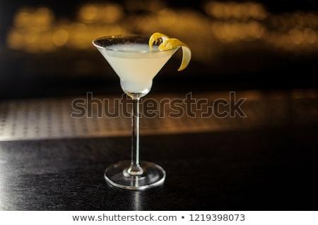 White Lady Cocktail Stock photo © netkov1