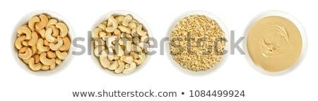 Kesudió diók fehér indiai pörkölt sózott Stock fotó © milsiart