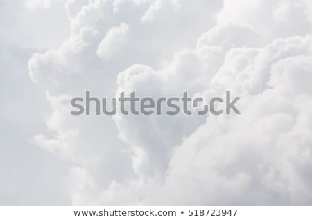 Fluffy white cloud background Stock photo © kjpargeter