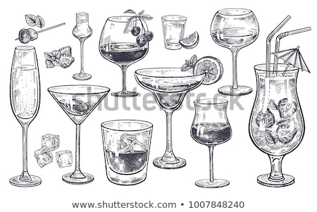cocktail glass stock photo © get4net
