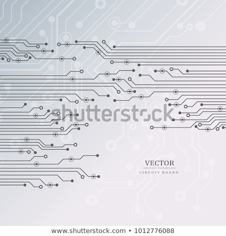 Chipset circuit vector background Stock photo © pakete