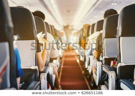 Row of vintage airplanes Stock photo © neirfy
