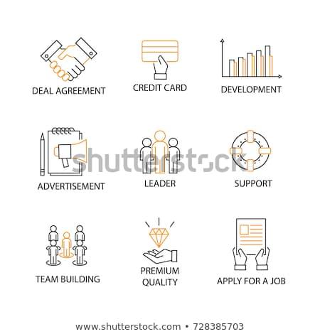 fin a job word stock photo © fuzzbones0