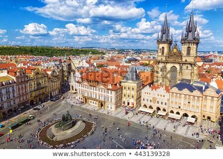 Street at Old Town Square (Staromestske Namesti). Prague, Czech  Stock photo © Kirill_M