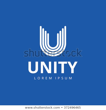 Logo Shapes and Icons of Letter U Stock photo © cidepix