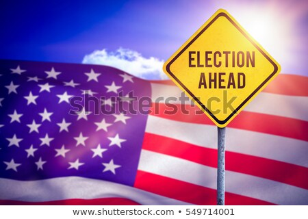 Composite image of election ahead Stock photo © wavebreak_media