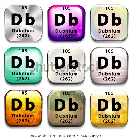 周期表 教育 白 化学 グラフィック ストックフォト © bluering