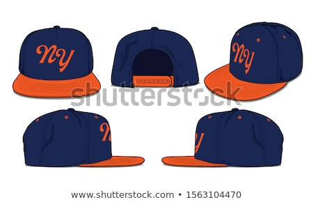 baseball cap vector illustration  Stock photo © nezezon
