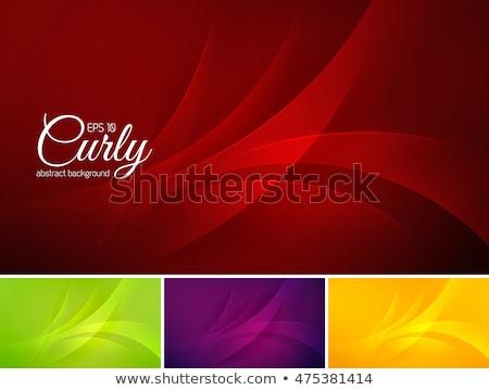 Swirl темно-бордовый цвета шаблон вектора дизайна Сток-фото © SArts