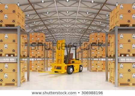 scheepvaart · logistiek · idee · handel · overeenkomst · gloeilamp - stockfoto © lightsource
