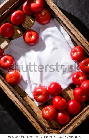 абрикос сока свежие плодов листьев белый Сток-фото © yelenayemchuk
