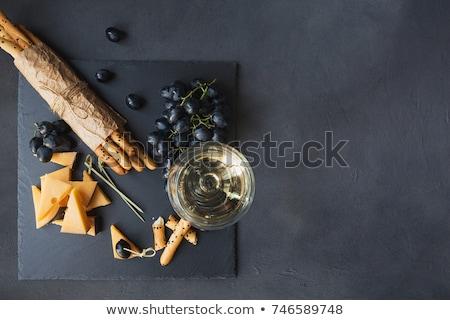 sajt · fehér · krém · egészséges · élelmiszer · hozzávaló - stock fotó © m-studio