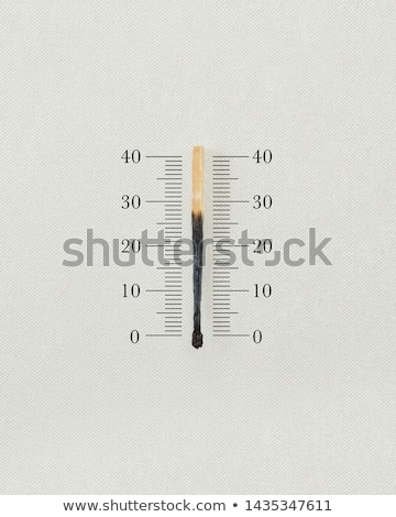 skali · termometr · biały · lekarza · medycznych - zdjęcia stock © psychoshadow