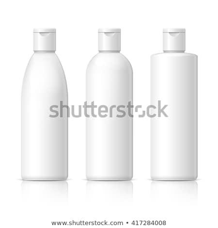 Shampoo bottiglia bianco illustrazione 3d sole bagno Foto d'archivio © magraphics