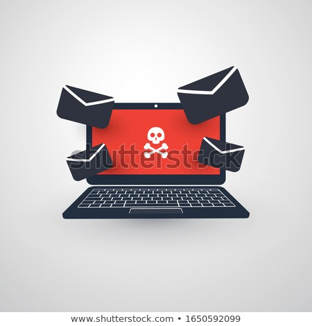 Phishing mail concept with envelope and computer Stock photo © adrian_n