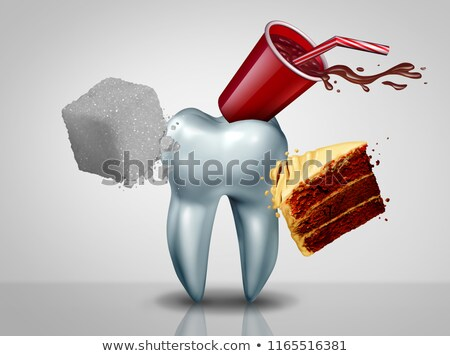 Effects Of Sugar On Teeth Stock photo © Lightsource