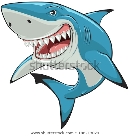 Evil Cartoon Fish Creature Stock photo © cthoman