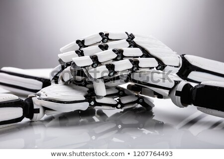 Robot Stacking Their Hands Stock photo © AndreyPopov