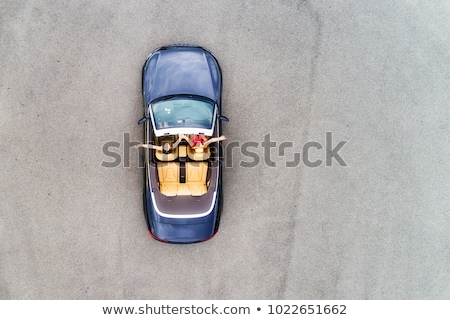 Small convertible car Stock photo © YuriSchmidt