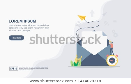 Spam concept vector illustration. Stock photo © RAStudio