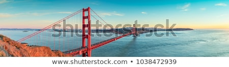 San Francisco panorama strand water zee oceaan Stockfoto © hanusst