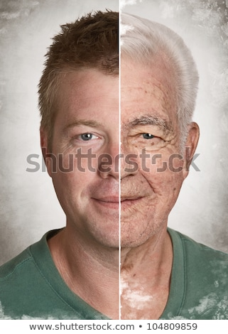 Old and young man.  Stock photo © szefei