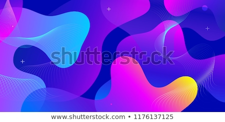 Fluid Liquid Abstract Background Vector. Modern Layout. Motion Flyer. Minimal Template. 3D Realistic Stock photo © pikepicture