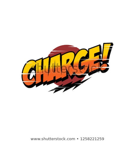 charge word text greeting sign label Stock photo © vector1st