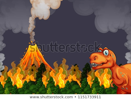 爆発 · 地球 · キノコ · 雲 · 世界 - ストックフォト © colematt