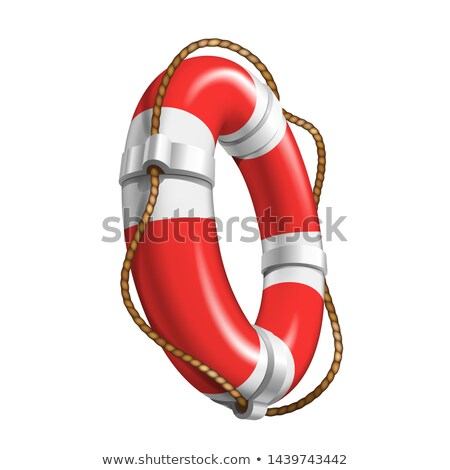 Life Saver Boat Element For Help Drowning Vector Stock photo © pikepicture