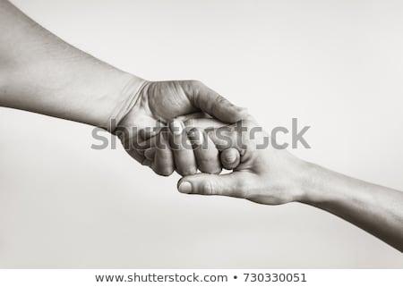 Hayır yardım vermek sevmek barış el Stok fotoğraf © jossdiim