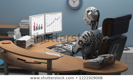 Robots and Humanoid, Types of Bots and Cyborgs Stock photo © robuart